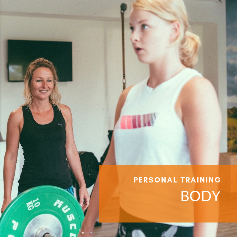 gezond in shape met personal training in Veenendaal