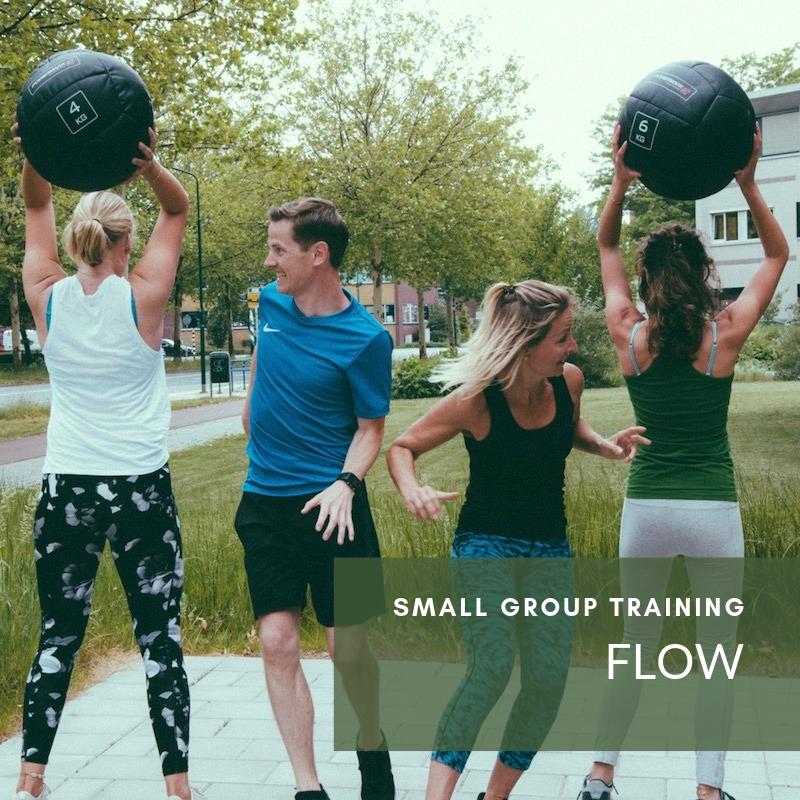 Fit blijven sportgroep training flow veenendaal