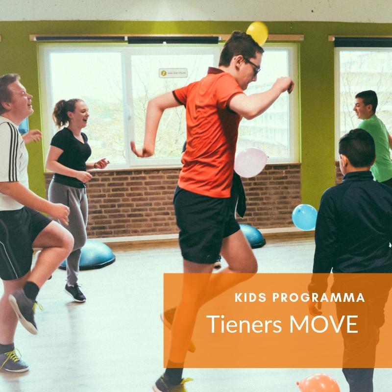 Tieners sporten bij MOVE in Veenendaal
